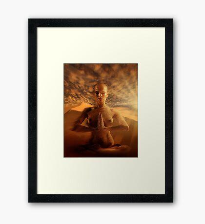 Bikram Framed Print
