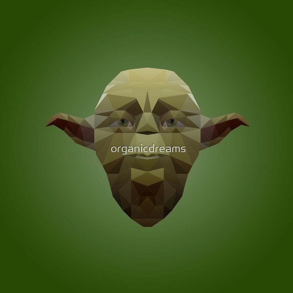 Yoda Low Poly by organicdreams