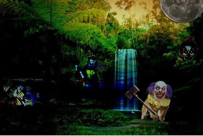 Evil Clowns by SRutledge