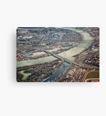 Belgrade Bridges Canvas Print