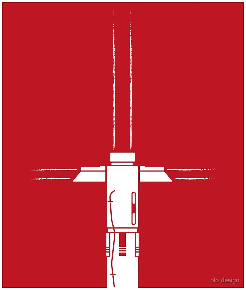 Kylo Ren Lightsaber by olo-design