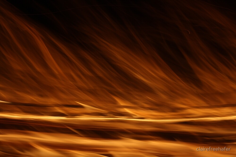 Flames by clairefreehafer