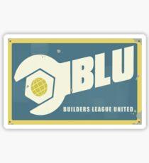 Blu Logo Sticker