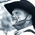 Rodeo Clown by Richard Skoropat