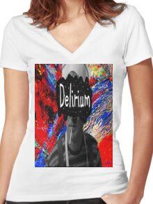 Bill Murray's Delirium Women's Fitted V-Neck T-Shirt