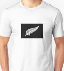 New Zealand Silver Fern Flag  Unisex T-Shirt