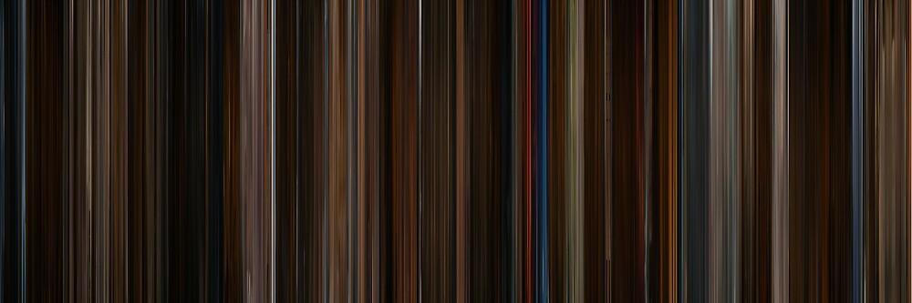 Moviebarcode: Memoirs of a Geisha (2005) by moviebarcode