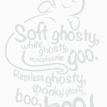 Soft Ghosty, White Ghosty... (dark) by excalibursp