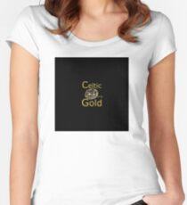 gold coin, metal detecting Women's Fitted Scoop T-Shirt