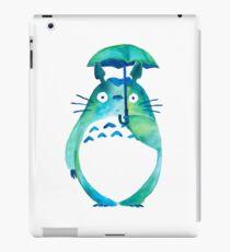 Water color Totoro iPad Case/Skin