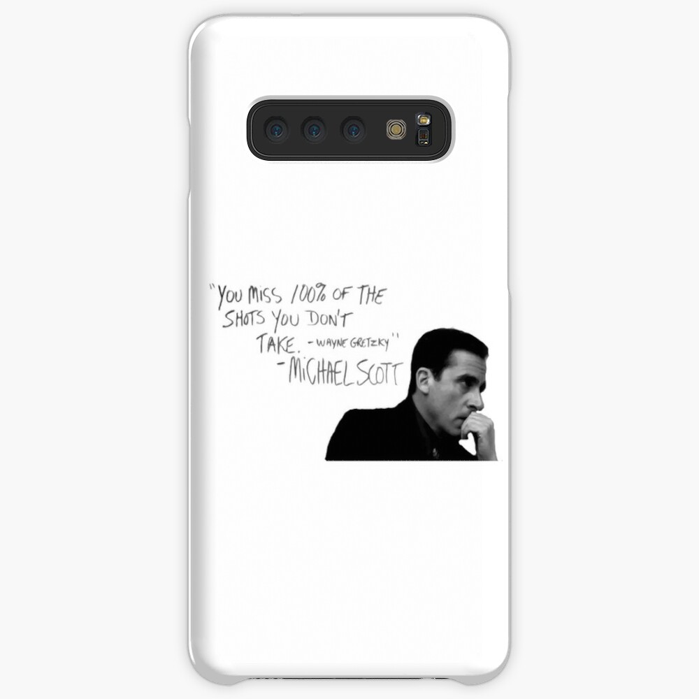 the office michael scott  Case & Skin for Samsung Galaxy