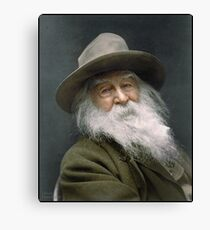 Walt Whitman, 1887 Canvas Print