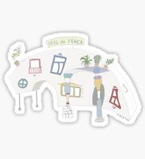 HeadQuarters Sticker