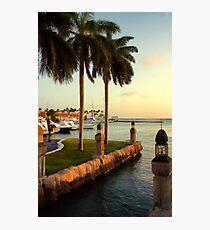 Seaport Village Marina Photographic Print