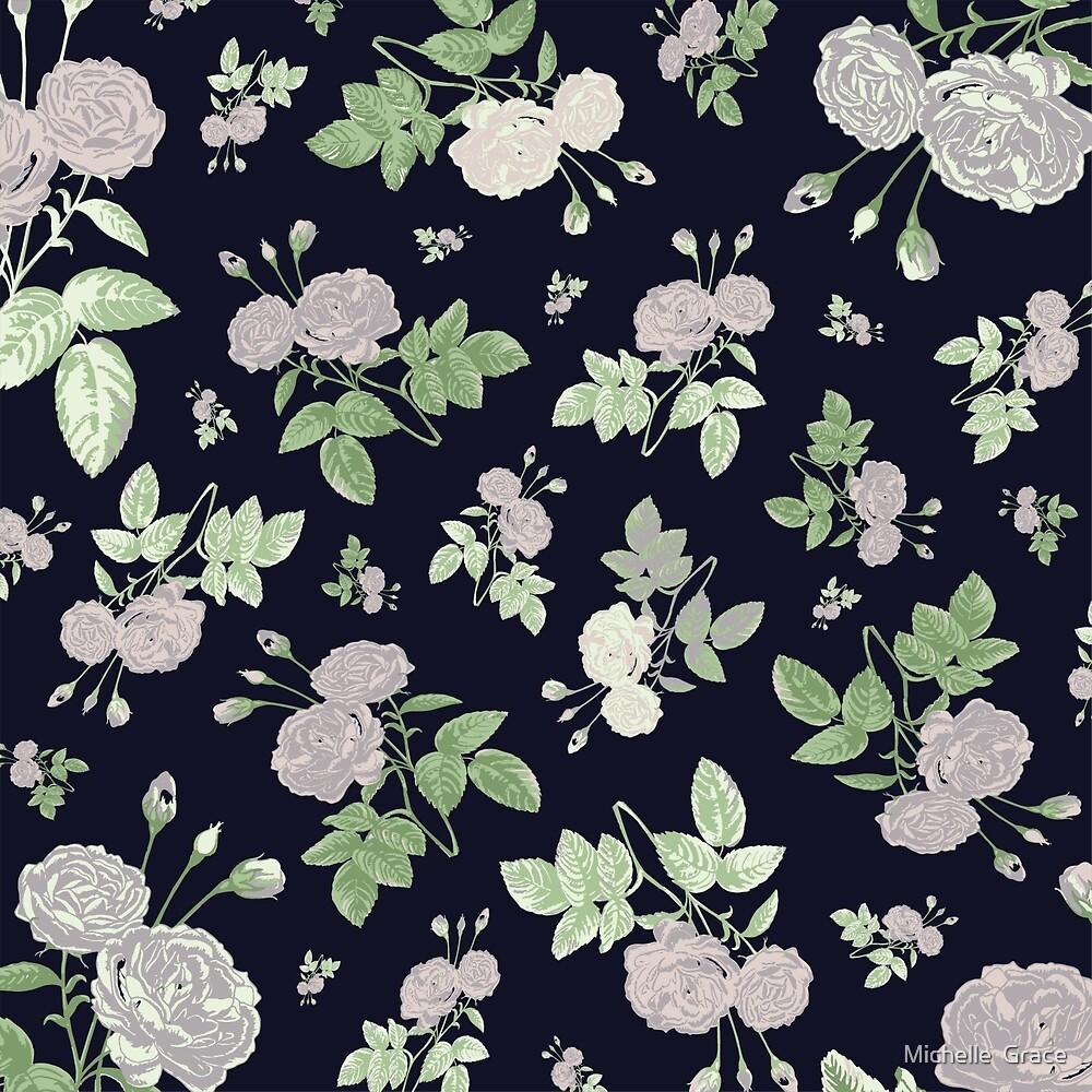 Elegant Roses by Michelle  Grace