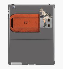 USB Rider iPad Case/Skin