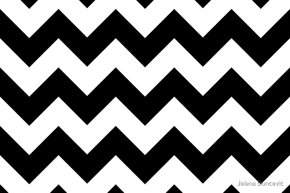 Zigzag pattern chevron pattern white black by sitnica for How to make a chevron template