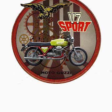 moto guzzi v7 sport by vizavi