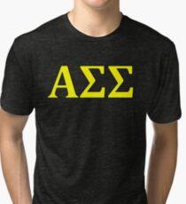 Alpha Sigma Sigma - Maize Tri-blend T-Shirt