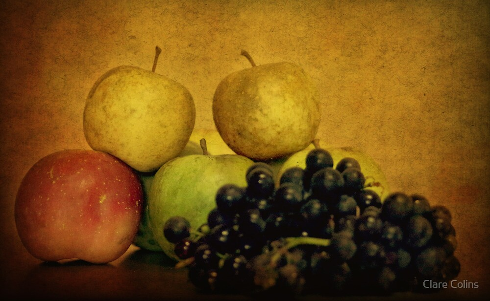 Autumn Fruits by Clare Colins