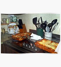 Party ready lasagna Poster