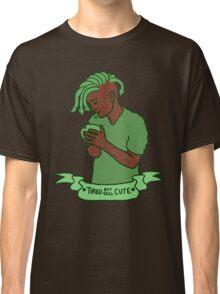 """Tired but still Cute"" Gorgon Classic T-Shirt"