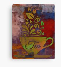 Tea Time - Art Print Canvas Print