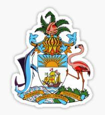 Bahamas Coat of Arms  Sticker