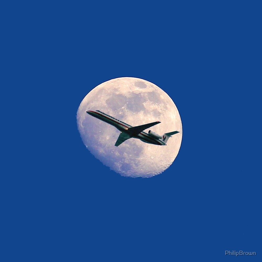 Fly Me To The Moon by PhilipBrown