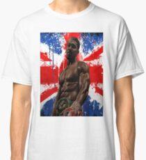 Anthony Joshua Boxing British Flag Rectangle  Classic T-Shirt