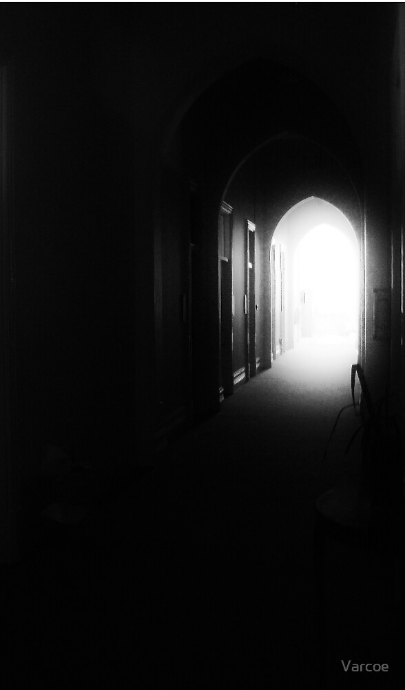 The only way out. by Varcoe