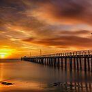 Sunrise at Lonnie - Pt Lonsdale Victoria by Graeme Buckland