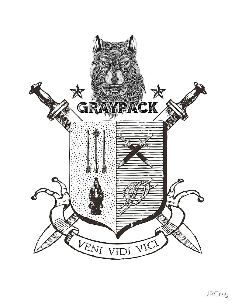 Gray Pack! by JRGray