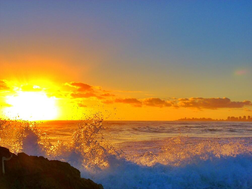 Golden Splash by Samspring27