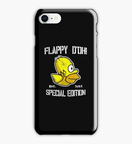 Flappy D'oh! iPhone Case/Skin