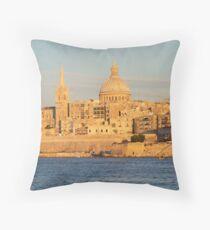 Valetta - Malta Throw Pillow