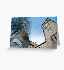Cardiff Castle Animal Wall Greeting Card