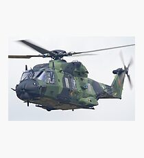Finnish Army Helicopter Photographic Print