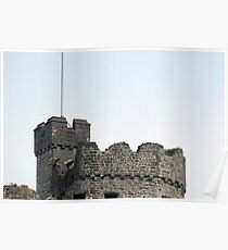 Cardiff castle Norman Keep Poster