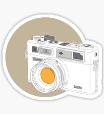 Yashica electro 35GSN Sticker