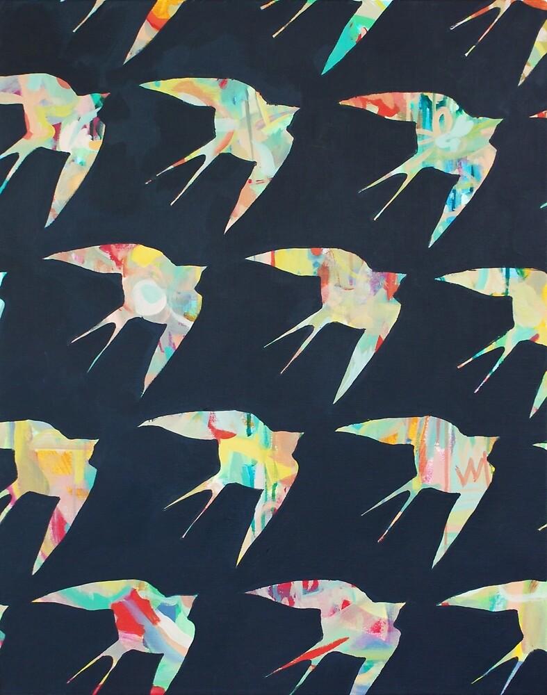 Australian Welcome Swallow I by KimLeutwyler