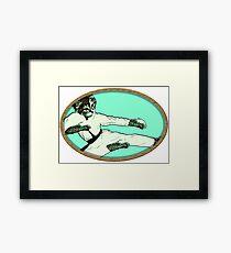 Karate Kat Framed Print