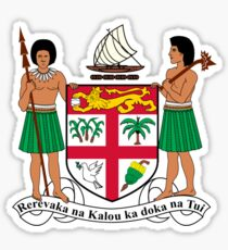 Fiji Coat of Arms  Sticker