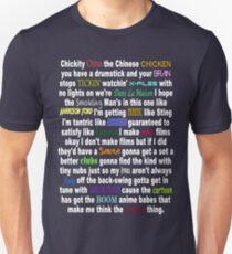 Camiseta unisex Una semana (Barenaked Ladies)