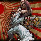 SSF4 - Ryu Sunburst by Stevie B