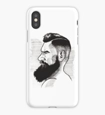 Kenny Brain - Bearded War Lord iPhone Case/Skin