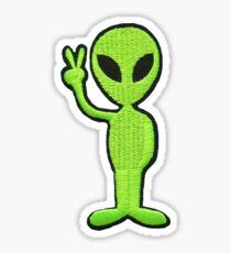 alien patch Sticker