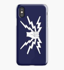 RAF Fist and Sparks phone cover ( single badge design) iPhone Case/Skin