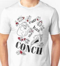 Piggy Has the CONCH Unisex T-Shirt