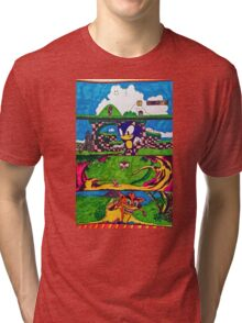 The Classic Game Collection! Tri-blend T-Shirt